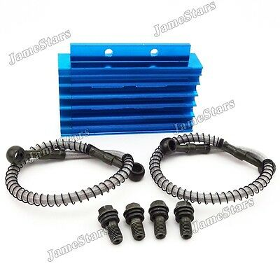 Blue Oil Cooler For Chinese Motorcycle Pit Dirt Bike Trail 125cc 140cc 150cc