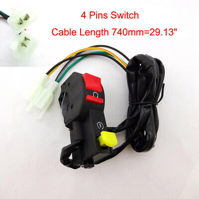 Kill Stop Switch For Electric Start Chinese Pit Dirt Bike Motorcycle 50cc-250cc