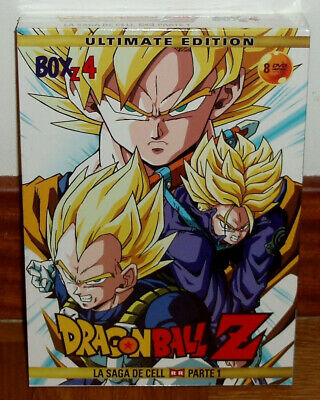 Dragon Ball Z Box 4 La Saga De Cell 1º Parte 8 Dvd Remasterizada Nuevo Manga R2