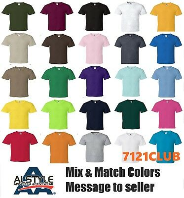Lot 12 Pack Aaa T Shirts 1301 Alstyle Apparel Mens Plain Short Sleeves S-Big 5Xl