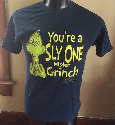 """Dr Suess How the Grinch Stole Christmas, """"Your a sly one Mister Grinch"""" Medium"""
