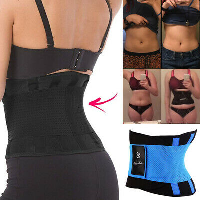 Xtreme Belt Thermo Sport Hot Power Slimming Shaper Waist Trainer Fever Corset #