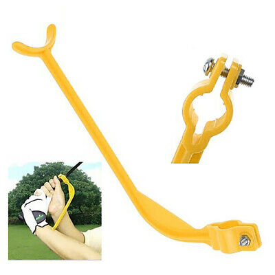 Cool Golf Swing Grip Trainer Angle Training Aid Correct Waist Practice Club Tool