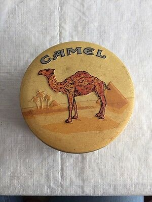 New Camel Zippo Lighter With Collectors Tin
