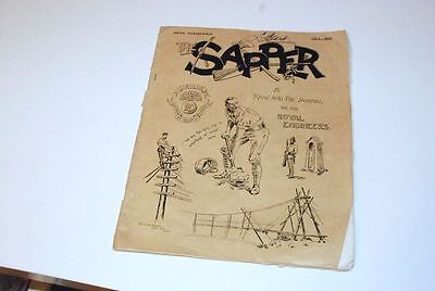 1915 GB Army Militaria The Sapper Journal, WWI History, 100 years old yy