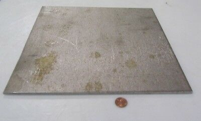 """410 Stainless Steel Sheet,  .188"""" Thick x 12"""" Wide x 12"""" Length, 1 Unit"""