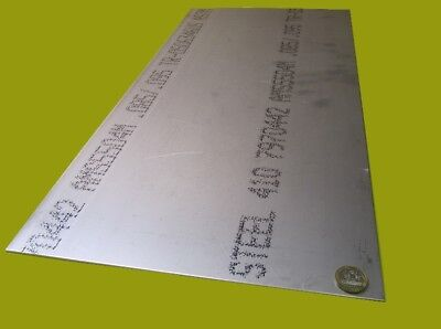 """410 Stainless Steel Sheet,  .090"""" Thick x 12"""" Wide x 24"""" Length, 1 Unit"""