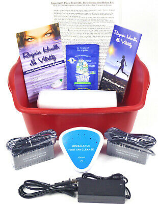 IonIC Detox Ionic Foot Bath Spa Chi Cleanse Unit for Home Use. Detox Foot Spa