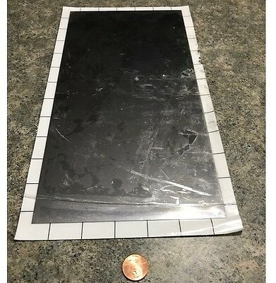 """440A Stainless Steel Sheet, (1/16) .062"""" Thick x 6."""" Wide x 12.0"""" Length, 1 Unit"""