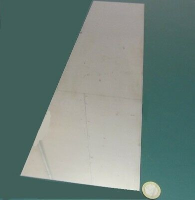 "440A Stainless Steel Sheet, (1/16) .062"" Thick x 6.0 Wide x 24.0"" Length, 1 Unit"