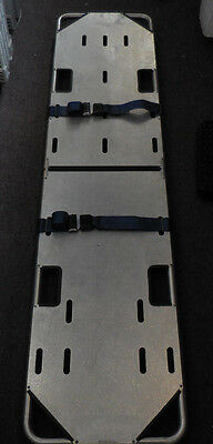 Dyna Med High Quality Aluminum Folding Spine Board Stretcher with Belts