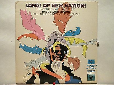 The De Paur Chorus  Roulette 9001  Songs of New Nations  African Folk