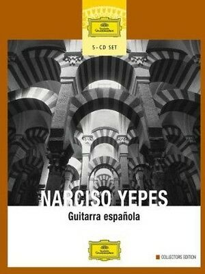 Guitarra Espanola - Narciso Yepes (2004, CD NEU) Yepes (GTR)5 DISC SET