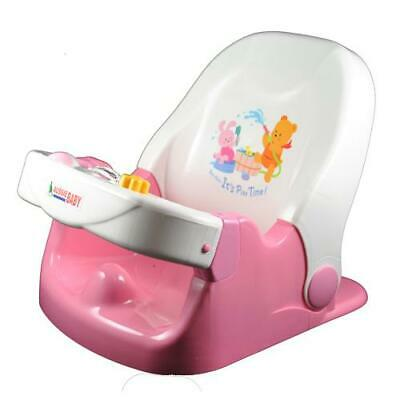 Baby Ace Safety Support Bath Aid Chair Seat - Pink
