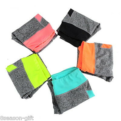 HX Womens Sports Leggings Fitness Runing Gym Exercise Yoga Jogging Pants