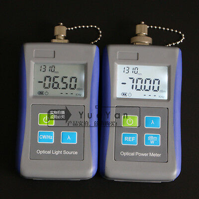 Fiber Optic Optical Laser Light Source 1310/1550nm Digital Optical Power Meter