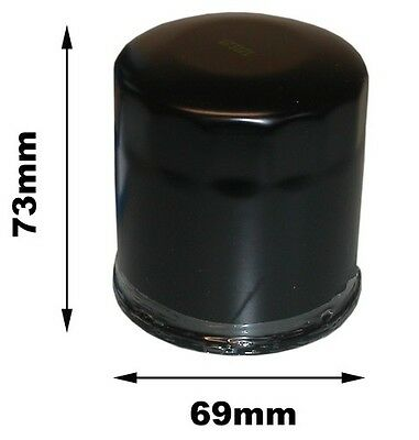 For Yamaha YFM 450 FGIZ Grizzly IRS Oil Filter 2010
