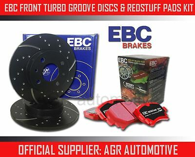 EBC FRONT GD DISCS REDSTUFF PADS 285mm FOR SAAB 9-3 1.9 TD 150 BHP 2004-11