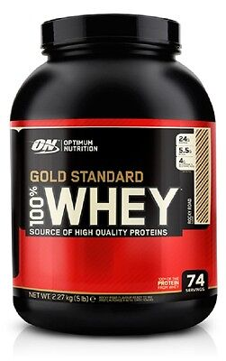 optimum nutrition 100% gold standard whey protein 450g 908g 2.27kg fast delivery