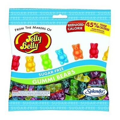 Jelly Belly Sugar Free Gummi Bears 80 g, Diabetic, Low Carb, No Sugar Added