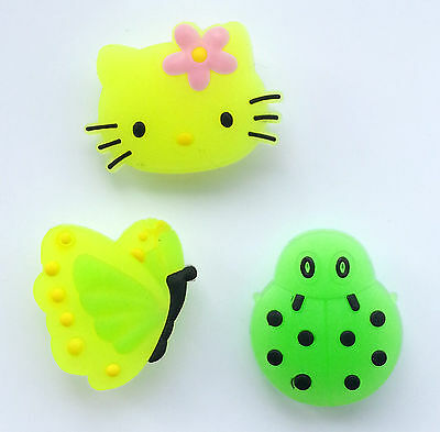 Glow In The Dark Croc Shoe Charms Suitable For Crocs Jibbitz Wristbands