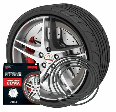 NEW - Rimblades with 3M glue - Singlepack - colour: black - Premium rim protecti