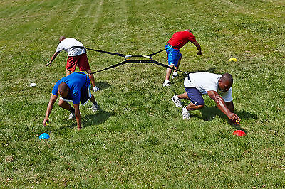 4 WAY TUG OF WAR - Increase your Sklz in every Sport -Best physical challenge!!