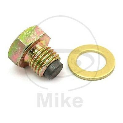 Honda CB 125 T Twin 1980-1986 Magnetic Oil Drain Plug Jmt M12X1.50 With Washer