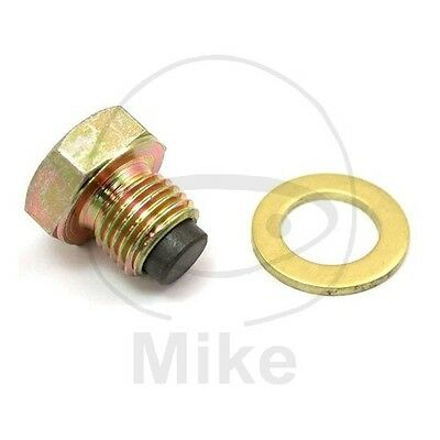 For Suzuki DR Z 400 2000-2004 Magnetic Oil Drain Plug Jmt M12X1.25 With Washer