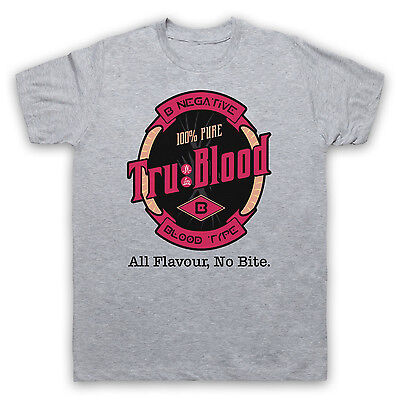 True Tru Vamp Blood Unofficial Vampire B- T-Shirt Mens Ladies Kids Sizes & Cols