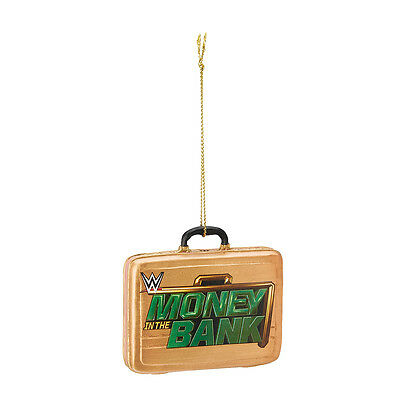 Wwe Money In The Bank Christmas Ornament Holiday Decoration New