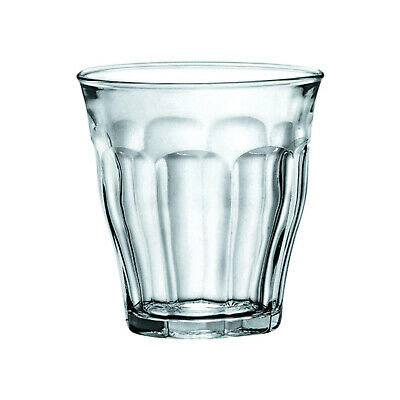 6x Duralex Tumbler, 160mL, Picardie, Commercial Coffee or Beverage Glass