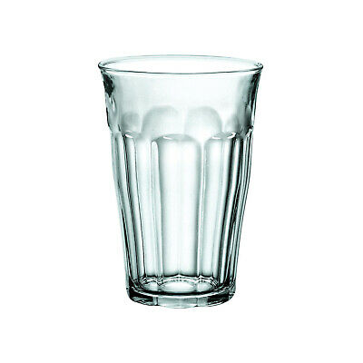 6x Duralex Tumbler, 360mL, Picardie, Commercial Coffee or Beverage Glass