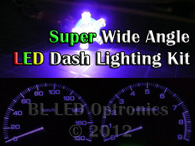 UV Ultraviolet LED Dash Cluster Light Kit Fits Nissan Patrol GU