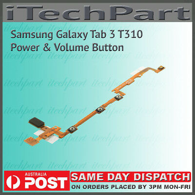 Samsung Galaxy Tab 3 T310 Power On/Off and Volume Button Flex Cable Replacement
