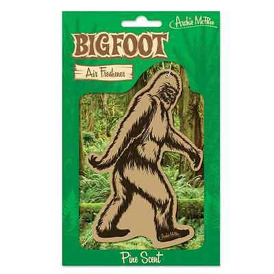 Sugar Skull Bigfoot Air Freshener Car Gift Fun Kitsch Retro Novelty Sasquatch