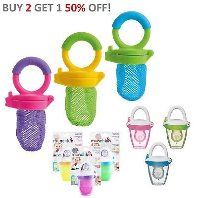 Munchkin Baby Fresh Food Mesh Feeder Deluxe. Baby Gets Nutrition with No Risk