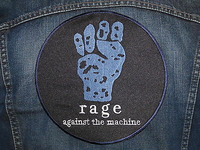 GRAND ECUSSON PATCH THERMOCOLLANT / RAGE AGAINST THE MACHINE rock métal hard usa