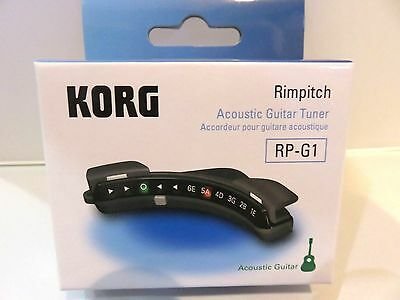 KORG Sound Hole-Mounting Acoustic Guitar Tuner Rimpitch RP-G1