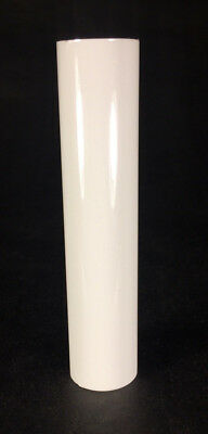 """New 4"""" WHITE PLASTIC CANDELABRA SOCKET Chandelier CANDLE COVER  #CC927"""