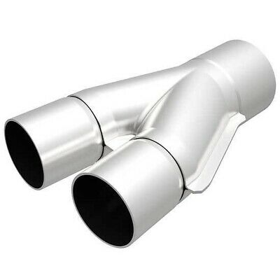 MagnaFlow For Y-Pipe transition 8 X 2.5IN Performance Stainless Steel #10734
