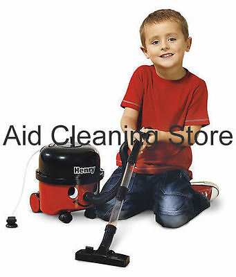 Numatic Little Henry Hoover Toy Vacuum Cleaner Kids Play Children Cleaning Toys