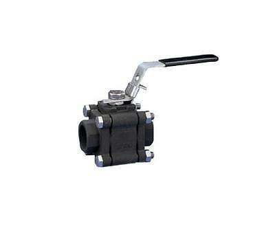 "CARBON STEEL BALL VALVE - BSPP - 1/4"" to 4"" - RATED CL800  - STEAM"