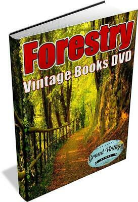 FORESTRY 114 Rare Vintage Books on DVD - tree surgeon ,forests, forest ecology