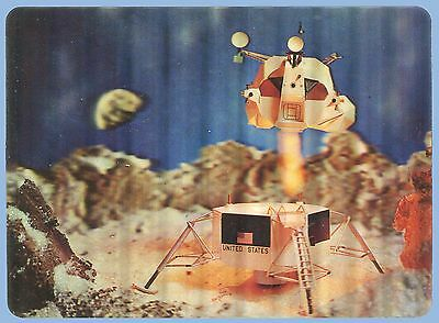 VINTAGE - 1960's - 3D LENTICULAR COLLECTOR SERIES POSTCARD - MOMENT OF TRUTH