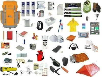3 Day Emergency Survival Kit Bug Out Bag Disaster Earthquake Zombie 72 Hour SHTF
