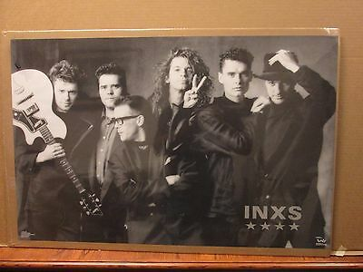 Vintage INXS Kick poster music rock and roll 11165