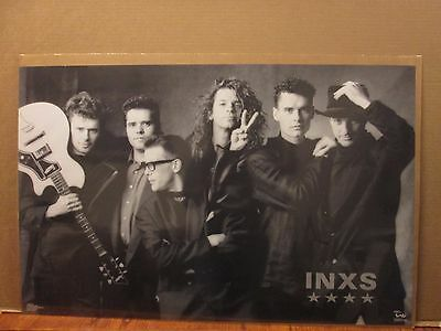 Vintage INXS Kick poster music rock and roll 11166