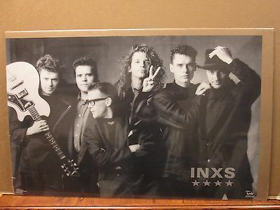 Vintage INXS Kick poster music rock and roll 11167