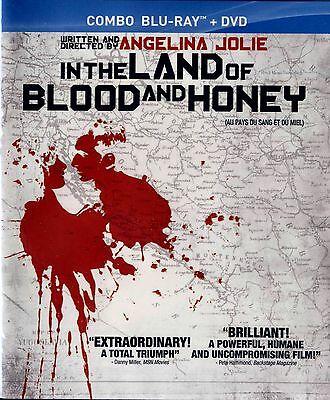 NEW  BLU-RAY/DVD COMBO // In the Land of Blood and Honey // Angelina Jolie,